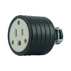 GE Grounding Heavy Duty Connector, Black