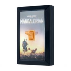 Star Wars The Mandalorian Battery Operated LED Light Switch, Black