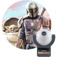 Projectables Star Wars The Mandalorian Plug-In Light Sensing LED Night Light