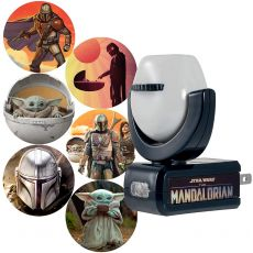 Projectables Star Wars The Mandalorian Plug-In Light Sensing 6-Image LED Night Light
