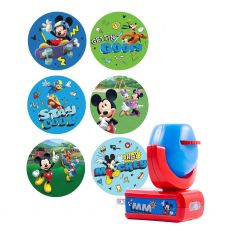 Projectables Disney Mickey Mouse & the Roadster Racers Light Sensing 6-Image LED Night Light