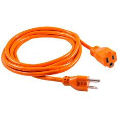 GE 9 ft. Indoor/Outdoor Extension Cord, Orange
