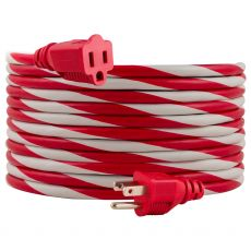 Philips 25ft. Outdoor Extension Cord, Red/White