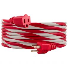 Philips 15ft. Outdoor Extension Cord, Red/White