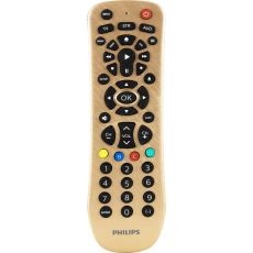 Philips 3-Device Universal Remote, Brushed Gold
