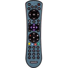 Philips 4-Device Soft Touch Universal Remote, Teal