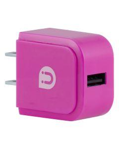 Uber USB Wall Charger, Pink