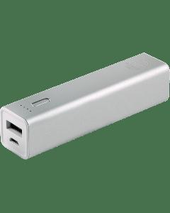 Power Gear 1-USB Charging Battery Pack, 3300mAh, Gray