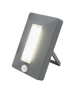 EcoSurvivor Portable Motion Sensing LED Lantern, Gray