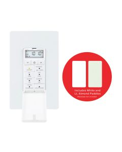 Honeywell Indoor In-Wall Daysmart 7-Day Digital Timer, White/Almond