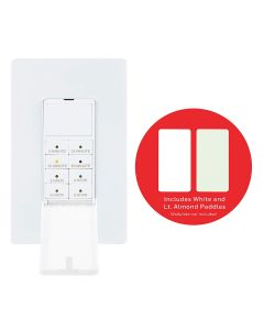 Honeywell Indoor In-Wall Push-Button Countdown Timer, White/Almond