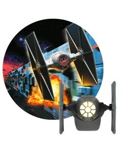 Projectables Star Wars Tie Fighter Plug-In Light Sensing LED Night Light