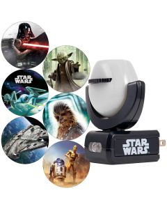 Projectables Star Wars Plug-In Light Sensing 6-Image LED Night Light