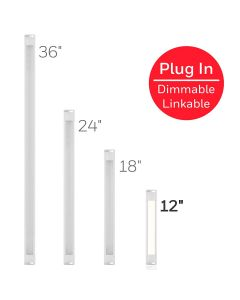Honeywell 12in. Linkable Plug-In LED Under Cabinet Fixture
