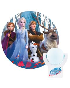 Projectables Disney Frozen II Light Sensing LED Night Light, White