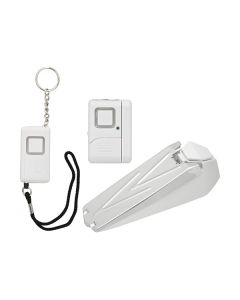 GE Personal Security Portable Alarm Kit, White