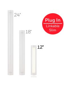 Honeywell 12in. Low-Voltage Slim LED Light Fixture, White