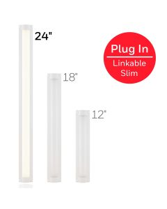 Honeywell 24in. Low-Voltage Slim LED Light Fixture, White
