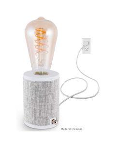 Enbrighten Anywhere Lamp, Gray