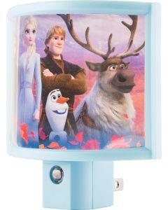 Frozen II Wrap Shade LED Night Light, Blue
