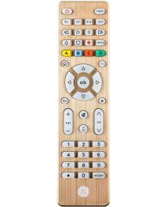 GE 4-Device Backlit Universal Remote, Brushed Gold