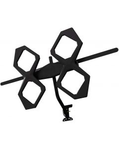 GE Quadcore HD Antenna, Black