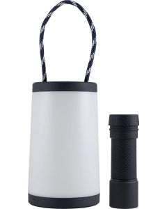 Enbrighten 2-in-1 LED Lantern, Black