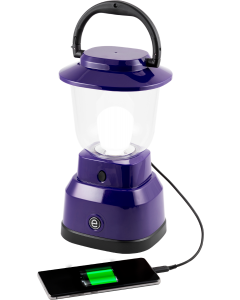 Enbrighten LED 6D USB-Charging Lantern, Purple