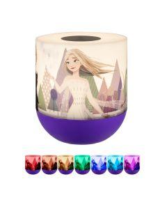 Disney Frozen II  Color Changing Tabletop LED Night Light, Purple