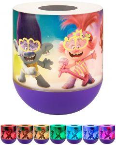 Universal Trolls World Tour Color-Changing Tabletop LED Night Light, Purple