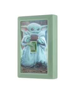 Star Wars The Mandalorian The Child Battery Operated LED Light Switch, Green