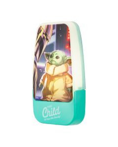 Star Wars The Mandalorian The Child Light Sensing LED Night Light, Green