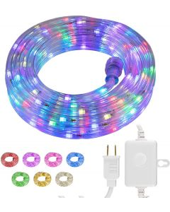 UltraPro Escape Indoor/Outdoor LED Rope Light, 50ft., Color-Changing