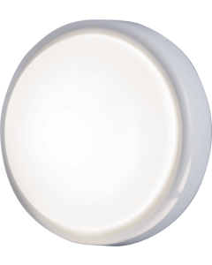 GE Battery Operated Round Tap Light, White