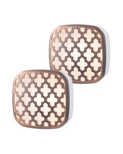 Lights by Night Light Sensing LED Night Light, 2 Pack, Bronze