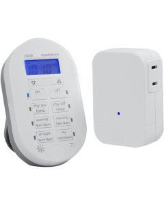 myTouchSmart Wireless Digital Timer System, White
