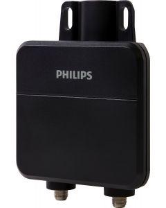 Philips Outdoor Antenna Amplifier, Black