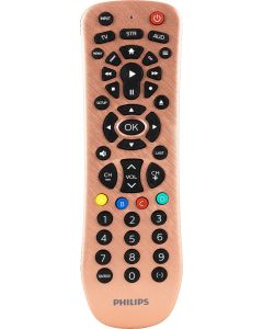 Philips 3-Device Remote, Brushed Rose Gold