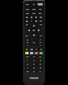 Philips 4-Device Universal Vizio Replacement Remote, Black