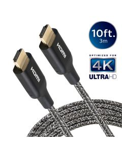 Philips 10ft. 4K Premium HDMI Cable with Ethernet, Black