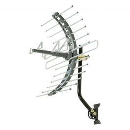 Ge Pro Outdoor Attic Mount Hd Antenna Gray
