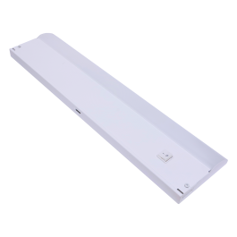 Ge 12 In Direct Wire Led Under Cabinet Light Fixture White