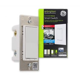 Ge Enbrighten Z Wave In Wall Smart Switch With Quickfit