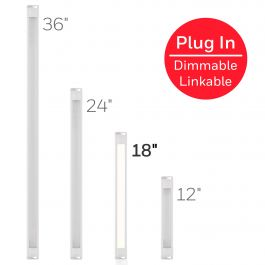Honeywell 18in Linkable Plug In Led Under Cabinet Fixture