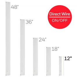 Honeywell 12in On Off Direct Wire Led Light Fixture