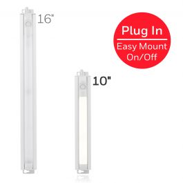 Honeywell 10in Plug In Led Light Fixture