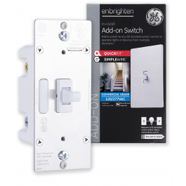 Ge Enbrighten Add On Switch With Quickfit And Simplewire