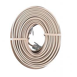 Ge 50 Ft Phone Line Cord Light Almond