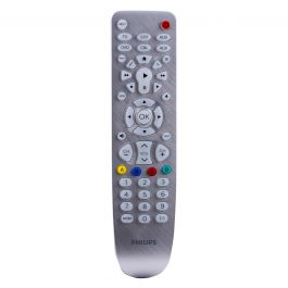 Philips Elite 6 Device Universal Remote Brushed Silver