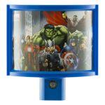 Marvel Avengers LED Light-Sensing Wrap Shade Night Light, Blue